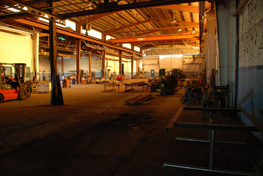 interior view of our niagara workshop